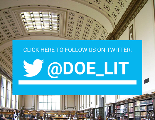 Click here to go straight to the library's twitter